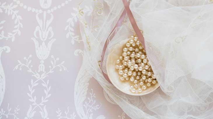 6月の誕生石のひとつ、真珠(パール)の画像