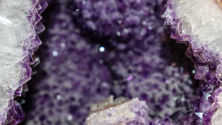 Photograph-of-amethyst-geode