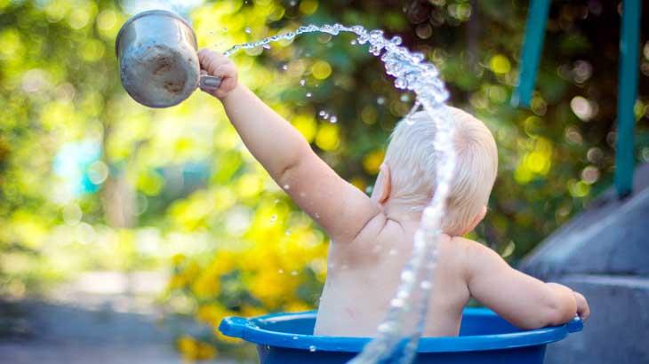 Image of bathing