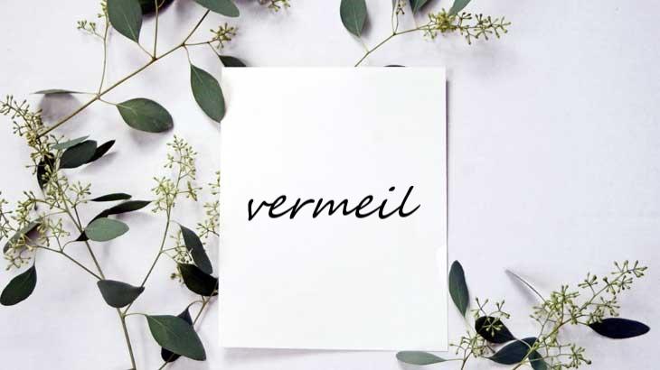 Image of vermeil