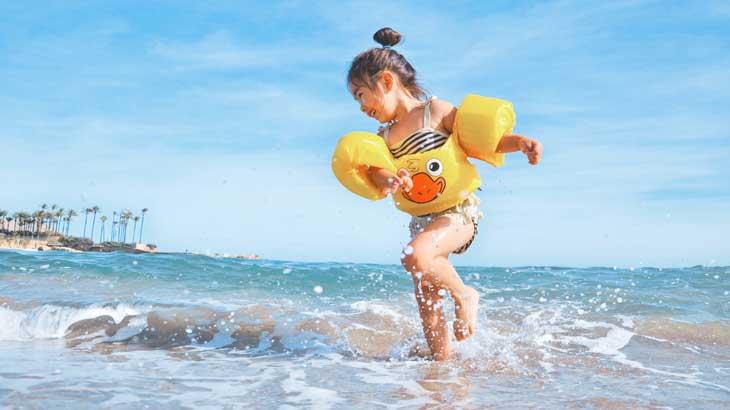 Photo of sea bathing